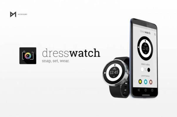 DressWatch – die Uhr immer passend zum Kleindungsdesign
