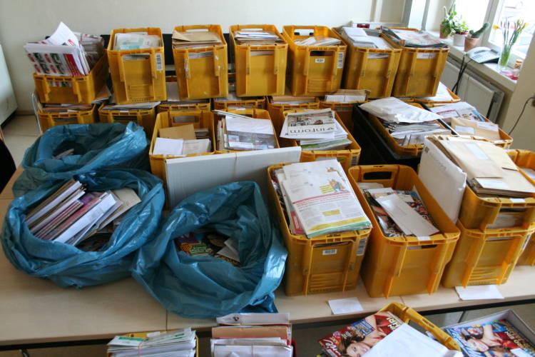 47-Jährige unterschlägt 30 Kisten Post