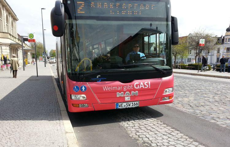 Weimar: ÖPNV Sozialticket wird ab April teurer
