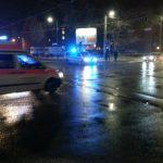 RTW Polizei abends Blaulicht TNetzbandt jenapolis.de thib24.de