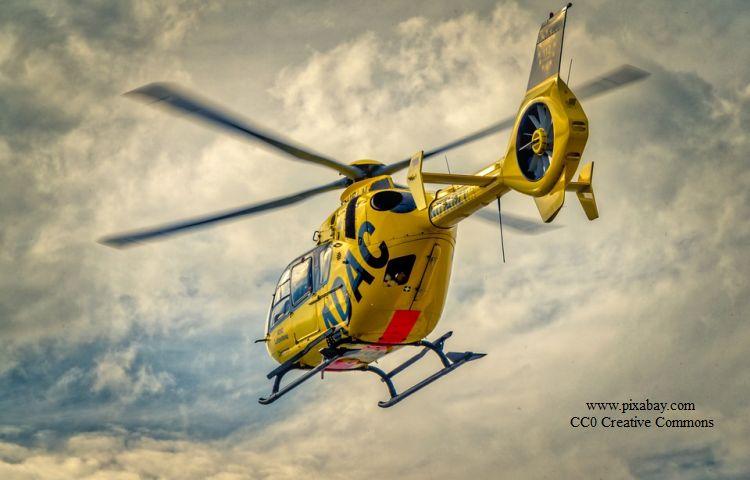 Gera: Hubschrauber musste im Zentrum landen