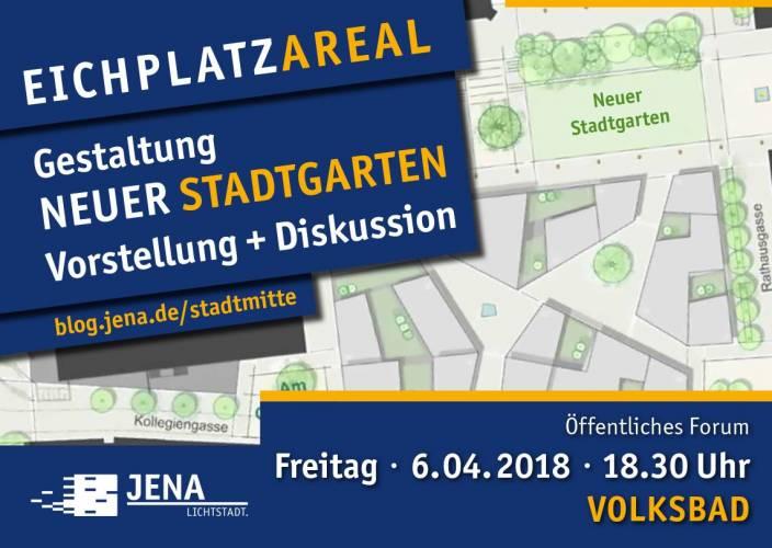 Jena: Bürgerforum zu den Grünflächen am Eichplatz
