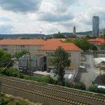 Blick auf Jena Intershop Turm Angergymnasium TNetzbandt thib24