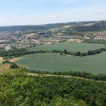 Blick von Kunitzburg auf Kunitz Saale Kläranlage Jena Nord Himmelreich Ölste 2 TNetzbandt thib24.de