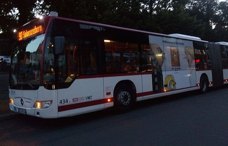 Erfurt: Buslinie 9 wird umgeleitet