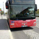 Bus Weimar am Hauptbahnhof TNetzbandt thib24