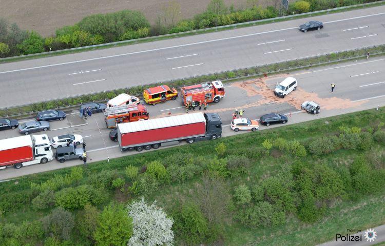 Waltershausen: 65-Jährige stirbt bei Unfall