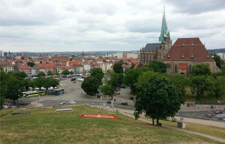 Erfurt: Entwurf für das Obere Plateau des Petersbergs gefunden