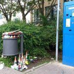 Eichplatz Automat Müll Parkplatz Jena TNetzbandt thib24
