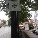 Fahrrad Symbol Thüringer Städtekette Schild TNetzbandt thib24.de