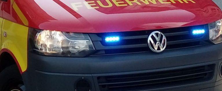 Jena: Weihnachtsbaum geriet in Brand