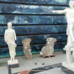 Gips Statuen Arch Klassische Werke Uni Campus TNetzbandt thib24