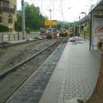 Gleisbauarbeiten Jena TNetzbandt thib24.de