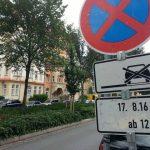 Halteverbot im Damenviertel TNetzbandt thib24