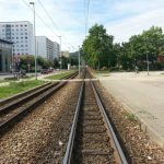 Lobeda West Karl Marx Allee Straßenbahngleise TNetzbandt thib24