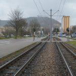 Lobeda West Straßenbahn Karl-Marx-Allee Blick nach Lobeda Ost TNetzbandt thib24