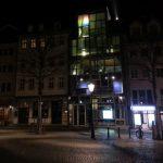 Markt Jena Touristinfo nachts TNetzbandt thib24