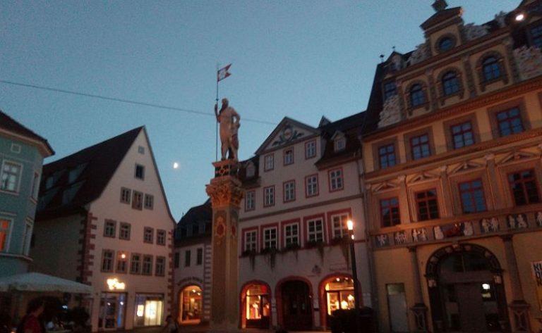 Erfurt: Licht aus für die Welt
