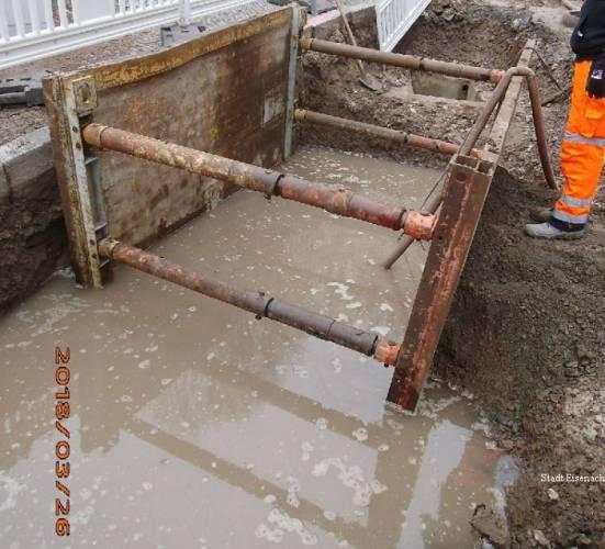 Eisenach: Wasserquelle in der Bornstraße entdeckt