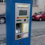 Parkscheinautomat Parkplatz am UHG Schlossgasse thib24.de