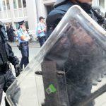 Polizei Demo TNetzbandt thib24
