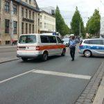 Polizei Jena Löbdergraben Polizei 2 TNetzbandt thib24