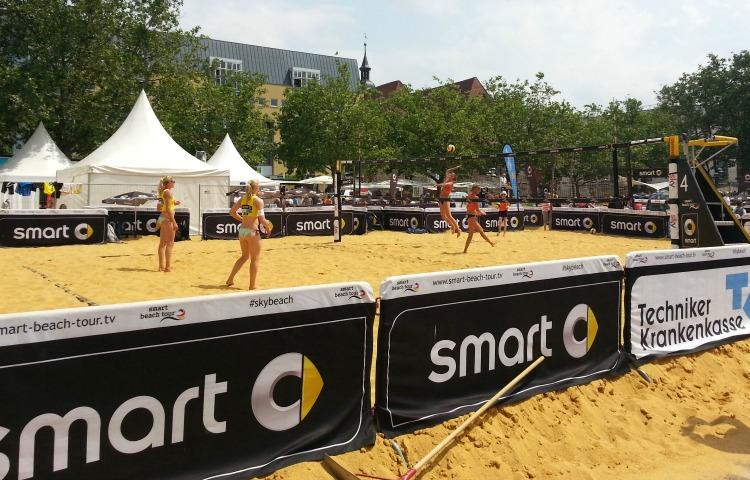 Jena: Beach Volleyball Tour 2020 wieder auf dem Eichplatz