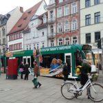 Straßenbahn Erfurt Anger 2 TNetzbandt thib24.de