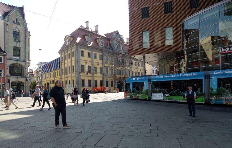 Erfurt: Anger wird zur Großbaustelle