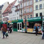 Straßenbahn Erfurt Anger TNetzbandt thib24.de