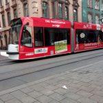 Straßenbahn Erfurt EVAG Bahnhof TNetzbandt thib24.de
