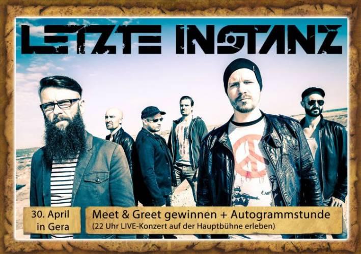 Meet & Greet mit LETZTE INSTANZ und Caraslan
