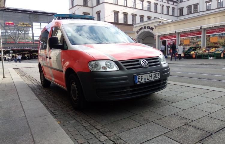 Erfurt: 11-Jährige zünden Mülltonnen an