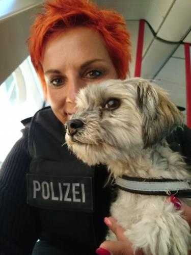 Arnstadt: Bundespolizei bringt Hundedame zu Frauchen
