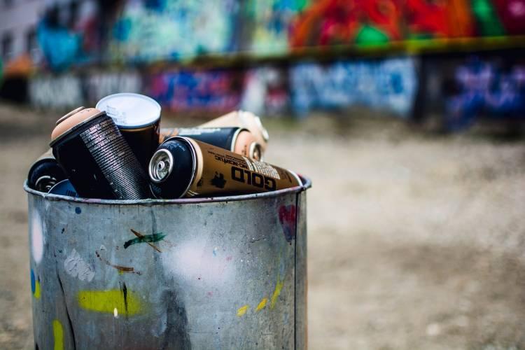 Ilmenau: Welle von Schmierereien im Stadtgebiet
