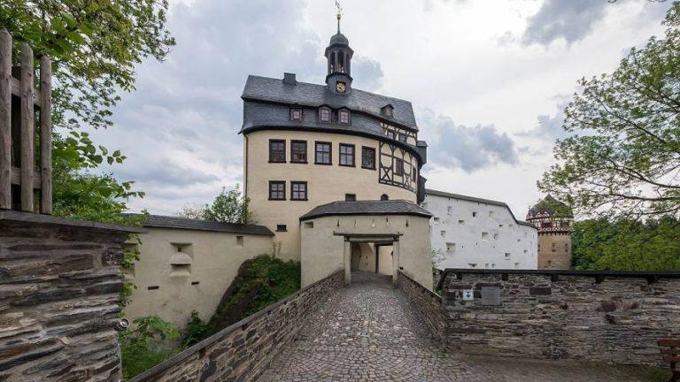 Schloss Burgk an der oberen Saale