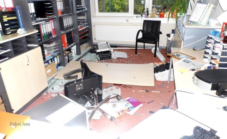 Jena-Lobeda: 20.000 Euro Schaden durch Vandalismus in Gemeinschaftsschule