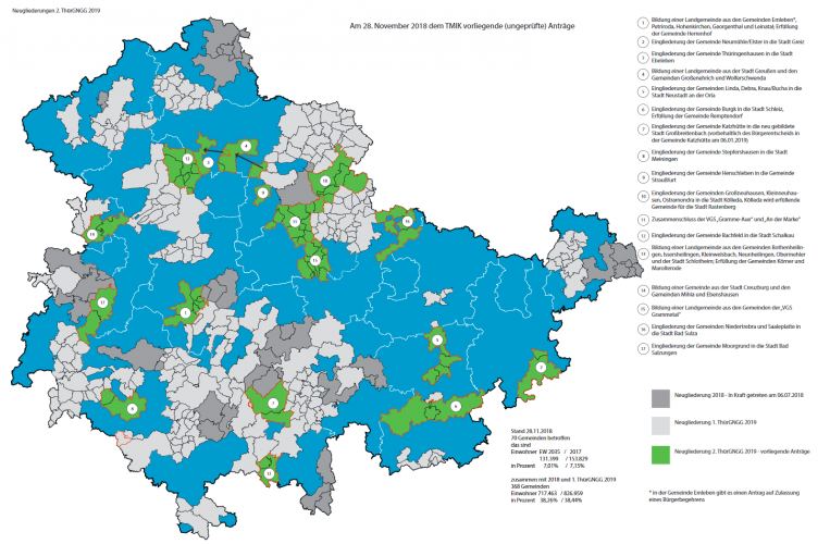 Erfurt: neue Bürgermeisterin und Beigeordnete gewählt