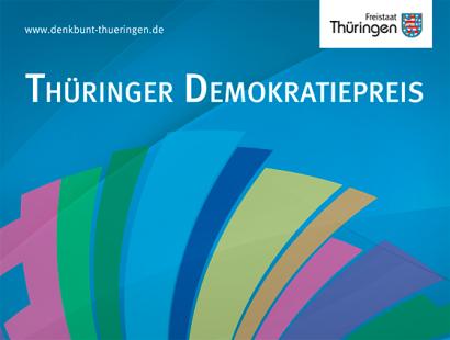 Verleihung der Thüringer Demokratiepreise 2018 am Donnerstag
