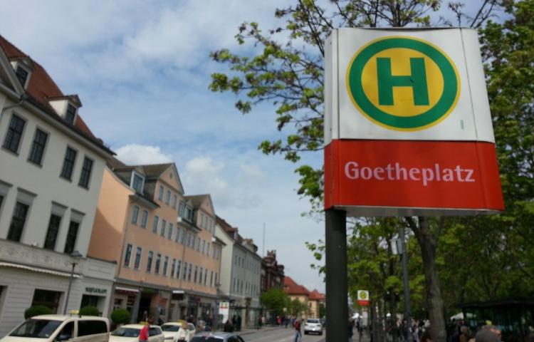 """Weimar: Es wird am Goetheplatz """"geblitzt"""""""