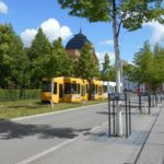 Straßenbahn Gera Theater Rasengrün TNetzbandt thib24.de 750