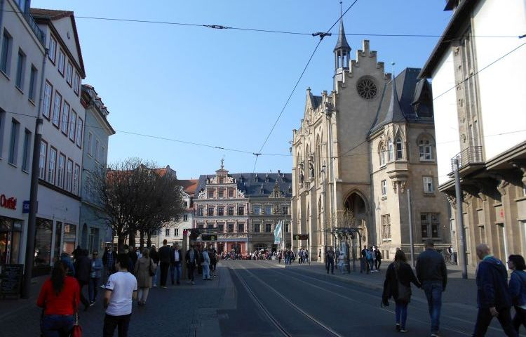 Erfurt: Modellstadt für Fußverkehr