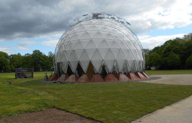 Klima-Pavillon mit Rekord-Besucherzahlen