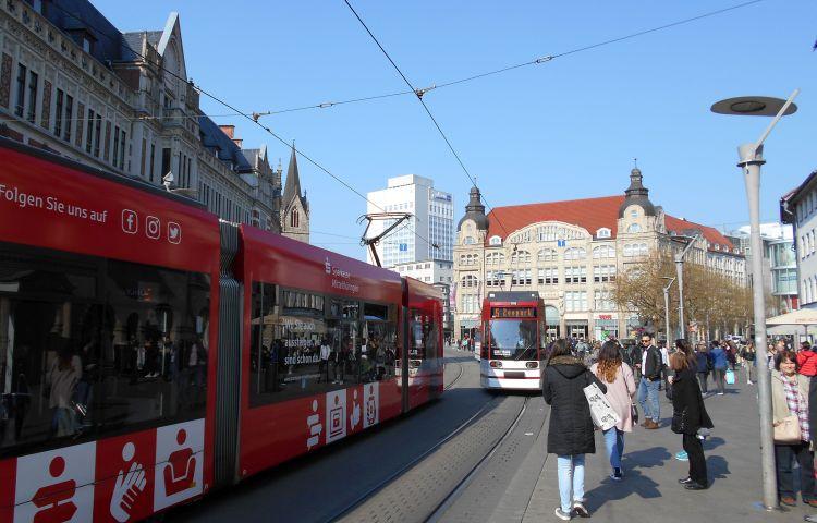 Erfurt: Fahrgast-Befragung zum Tramlink