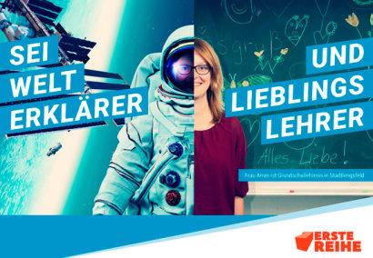 Thüringen sucht mit Großflächenplakaten und digitalen Anzeigen nach neuen Lehrern