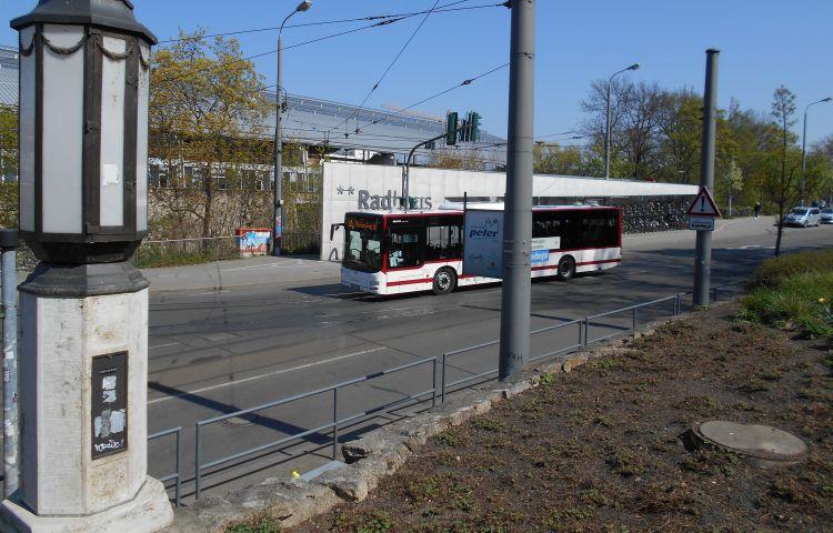 Erfurt: Umleitung der Buslinien 20, 30 und 36