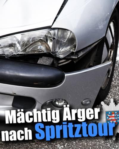 Ellrich (Lkr. Nordhausen): Betrunkener 14-Jähriger baut mit Auto der Eltern einen Unfall