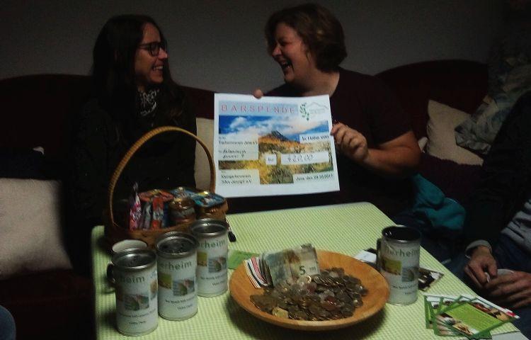 Jena: Jenzig-Kleingärtner spenden 420 Euro für das Tierheim