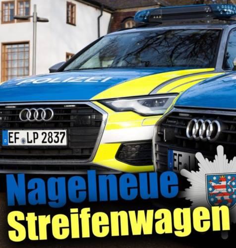 Neue Streifenwagen für die Polizei
