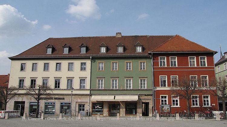 Weimar: Linde am Goetheplatz wird gefällt
